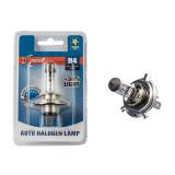 Галогенная лампа Xenite H4 (P43t) (Яркость+30%) 12V блистер 1 шт.